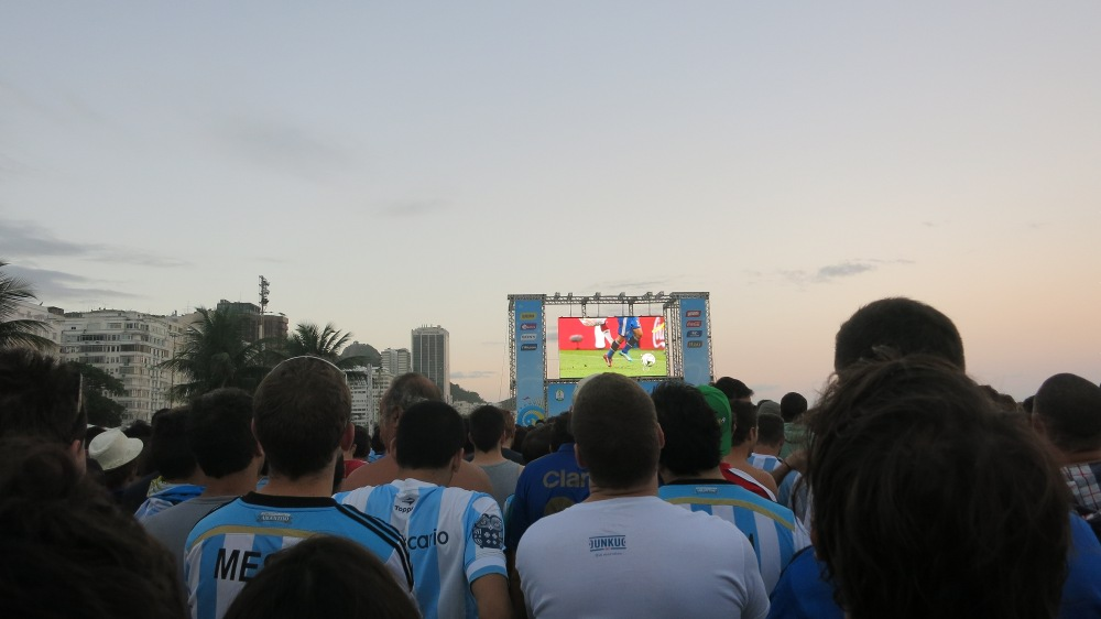 World Cup Final - Big Screen