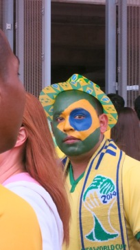 World Cup Brazil Fan