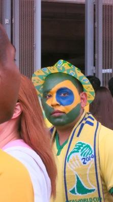 World Cup Brazil Fan