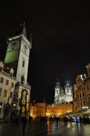 Old Town Square - Prague, Czech Republic