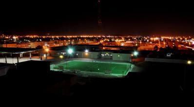 A school football picth in Al hasa