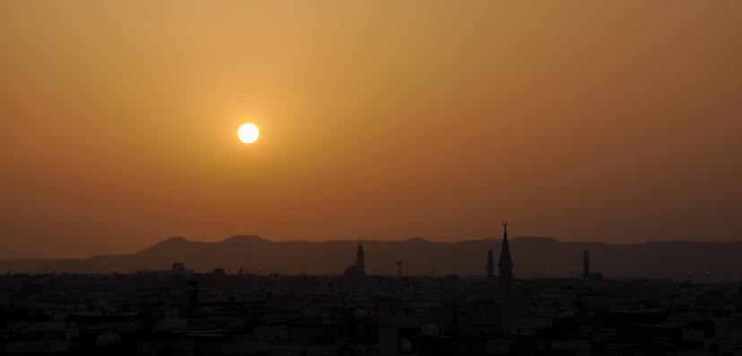 Sunset of Al Hasa
