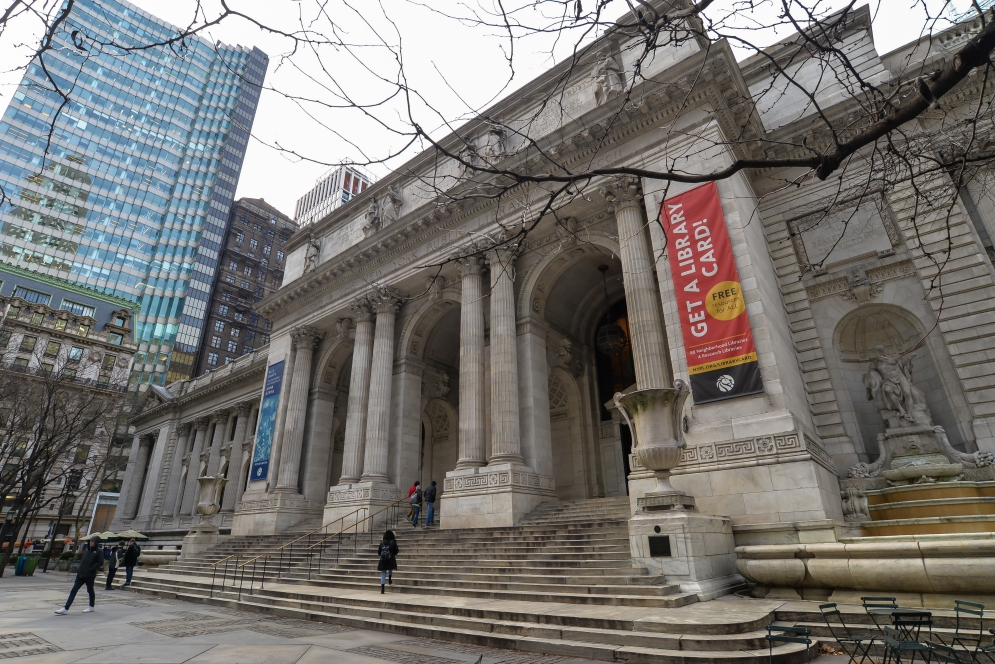 The iconic library in New York - USA